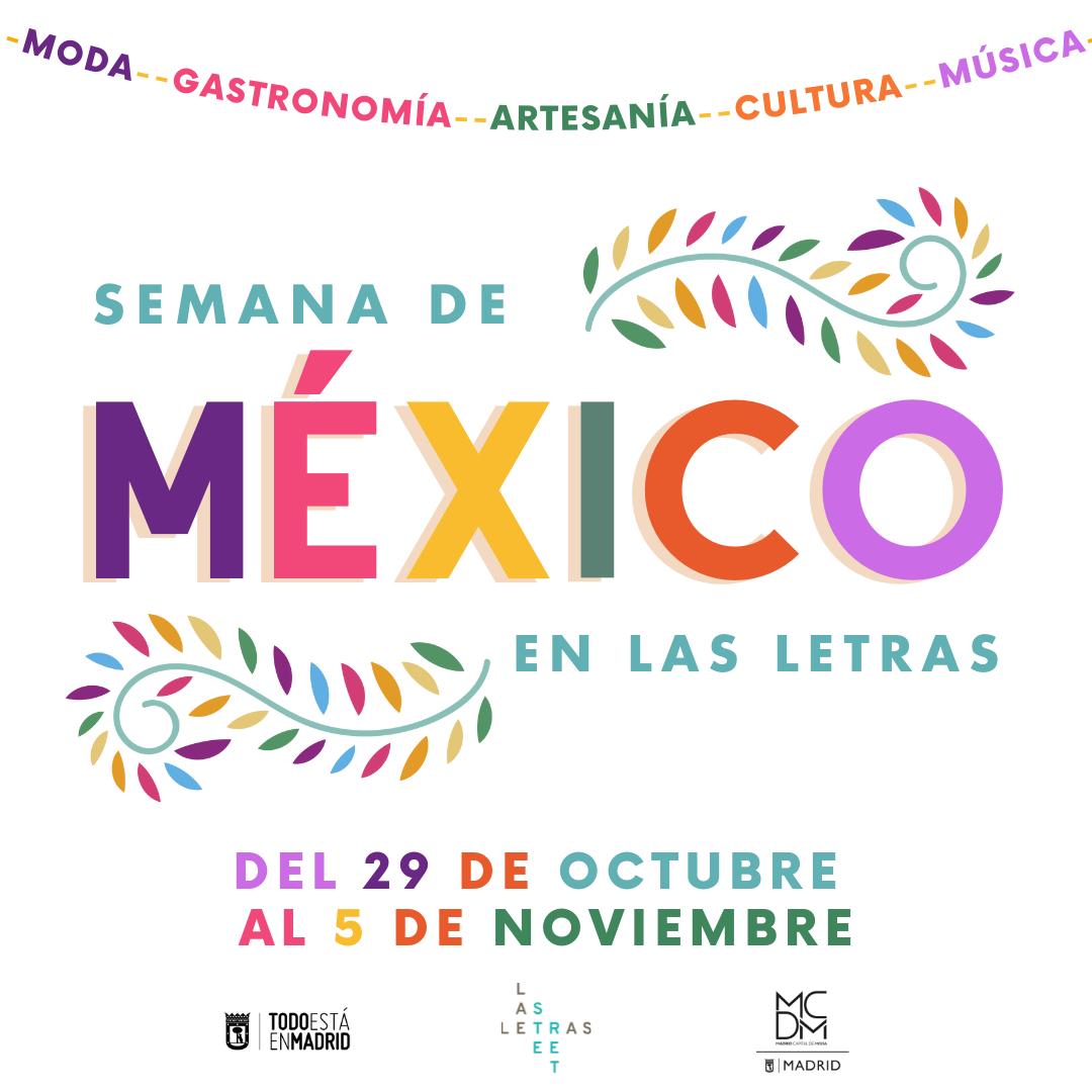 Semana de México en Las Letras